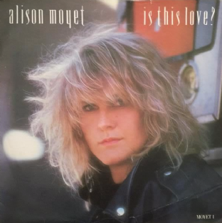 "Alison Moyet - Is This Love? (7"") (G-VG/VG-)"